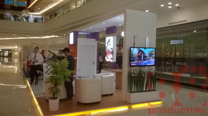 Property Exhibition Booth Design : Model stand pameran orchard park batam lokasi di mall