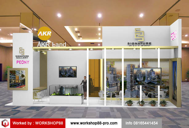 Property Exhibition Booth : Booth akr land surabaya property expo info